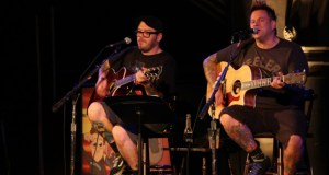 Bowling For Soup Acoustic 2013 on stage at Union Chapel, London