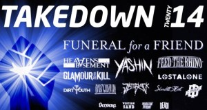 Takedown Festival 2014 First Line Up Poster
