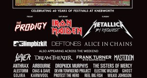 Sonisphere Knebworth 2014 Latest Poster With Dream Theater