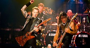 Metallica performing live in 2013. Photo credit Metallica.com.