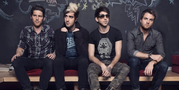 All Time Low Band Photo 2014