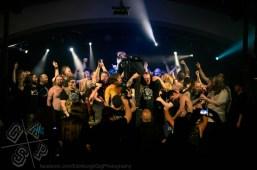 Stage invasion!