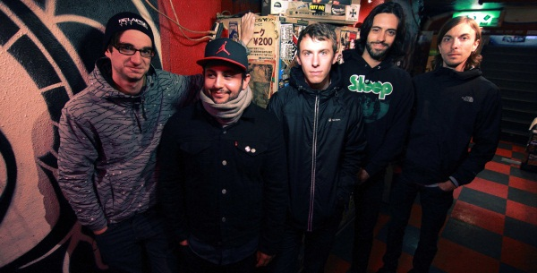 Man Overboard Band Promo Photo 2014
