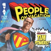 People On Vacation The Chronicles Of Tim Powers Album Cover Artwork
