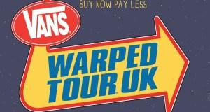 Vans Warped Tour UK 2015 Header Image