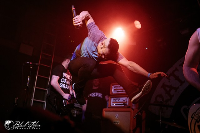 Patent Pending on stage at The Garage London 18th April 2016