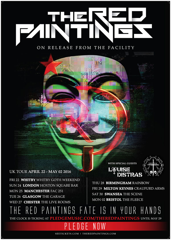 TRP Yuma Sun April 2016 UK Tour Poster