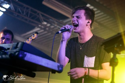 Disperse on stage at UK Tech-Metal Fest 2016 8th July 2016
