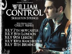 William Control Skeleton Strings UK Tour 2016 Poster