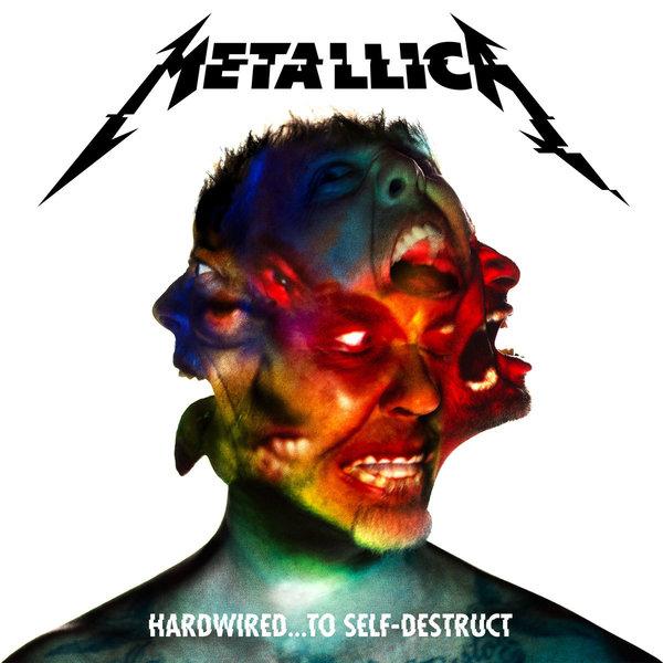 Metallica - Hardwired To Self-Destruct Album Cover 600px