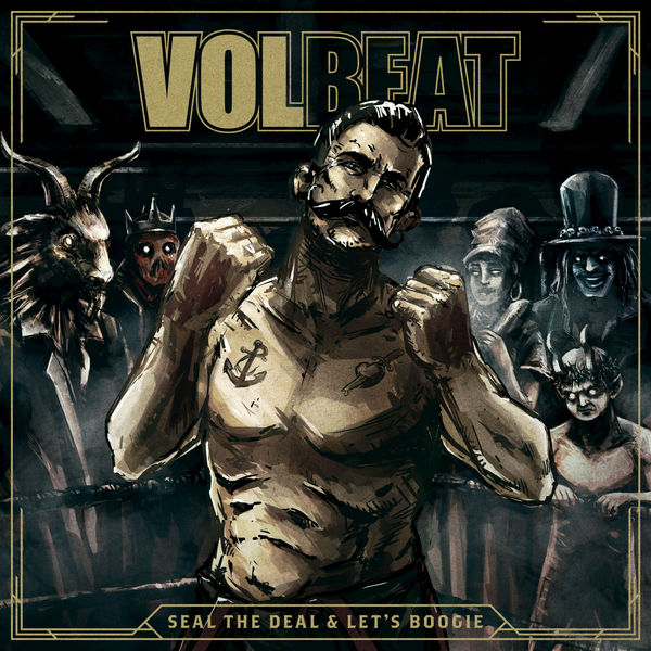 Volbeat Seal The Deal Album Cover