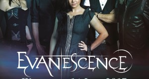 Evanescence June 2017 UK Hammersmith Apollo Show Poster