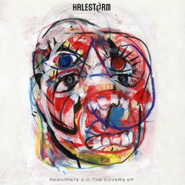 Halestorm ReAnimate 3.0 Covers EP Artwork