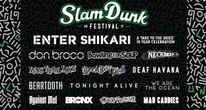 Slam Dunk Festival 2017 End Of Feb Line Up Poster Header Image