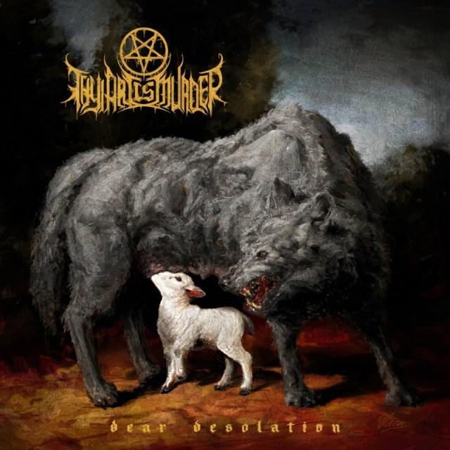 Thy Art Is Murder 2017 Dear Desolation Album Cover