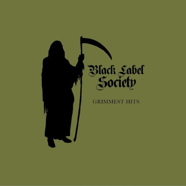 Black Label Society Grimmest Hits Album Cover Artwork
