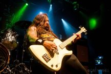 Power Trip Bassist, Manchester Academy, April 20th 2018