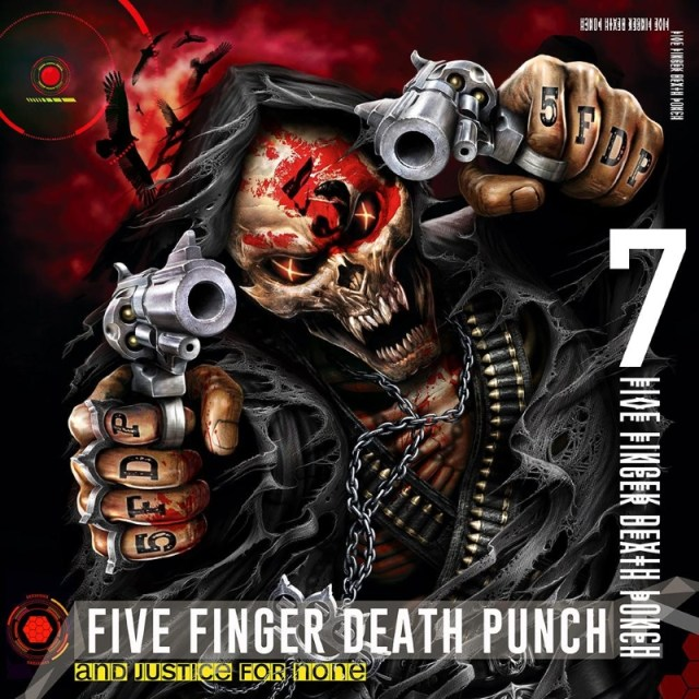 Five Finger Death Punch - And Justice For None Album Cover Artwork