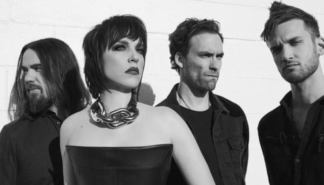 Halestorm 2018 Band Promo Photo