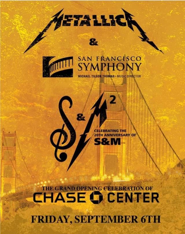 Metallica S&M 2 San Francisco Show Poster