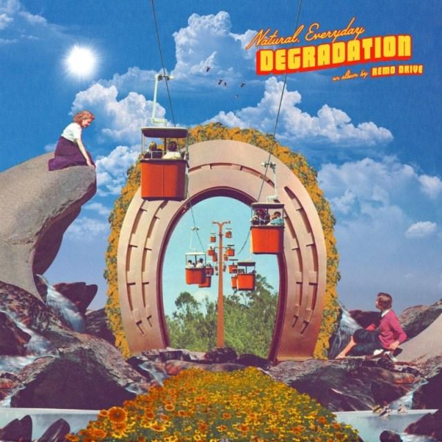Remo Drive - Natural, Everyday Degradation Album Cover Artwork