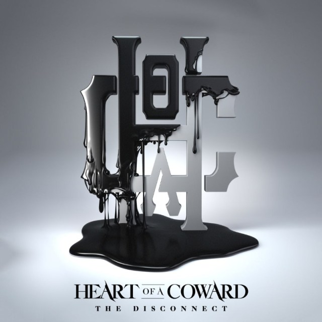 Heart Of A Coward - The Disconnect Album Cover Artwork