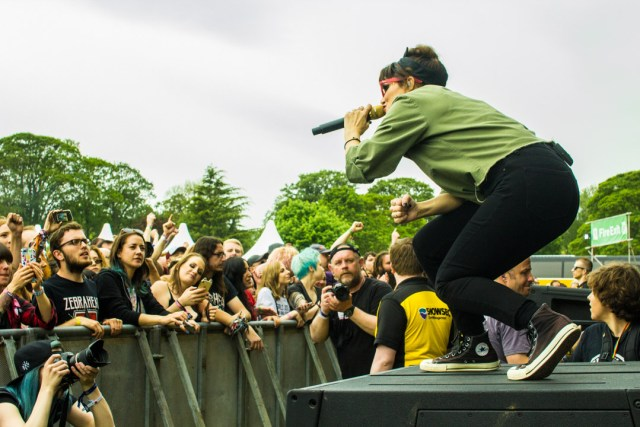 The Interrupters at Slam Dunk Festival North 2019 by Connor Morris