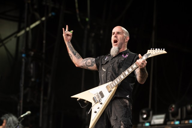 Scott Ian of Anthrax - Bloodstock Open Air Festival 2019 by Matt Higgs