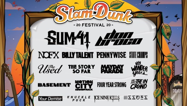 Slam Dunk Festival 2020 Second Line Up Poster Header Image