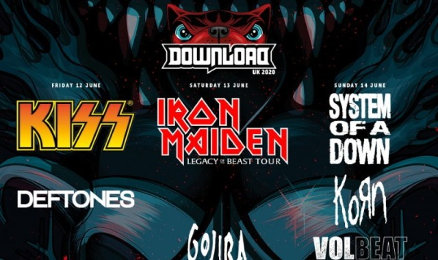 Download Festival 2020 Second Line Up Header