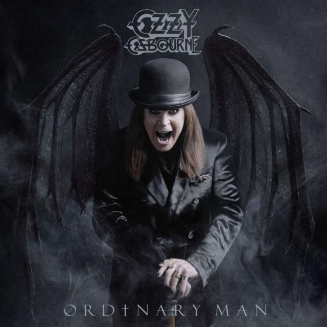 Ozzy Osbourne Ordinary Man Album Cover Artwork