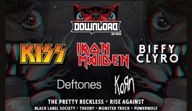 Download Festival 2022 First Full Line Up Header Image