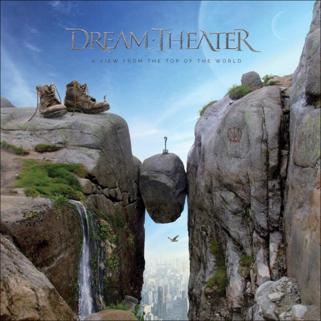 Dream Theater - A View From The Top Of The World Album Cover Artwork