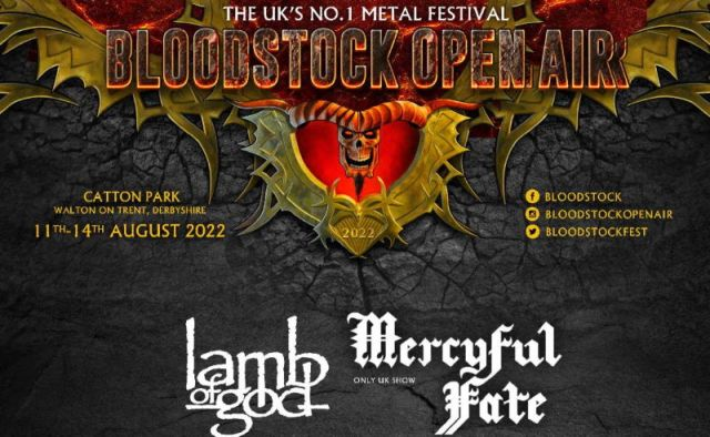 Bloodstock Open Air Festival 2022 First Line Up Header Image