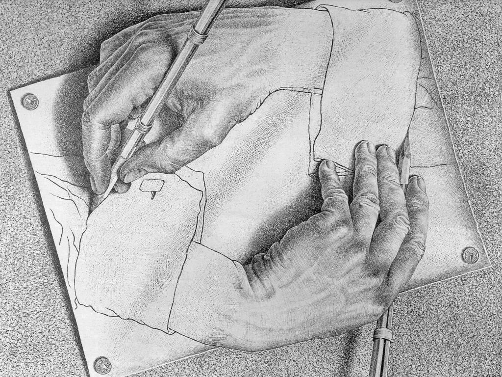 un classico di Escher...