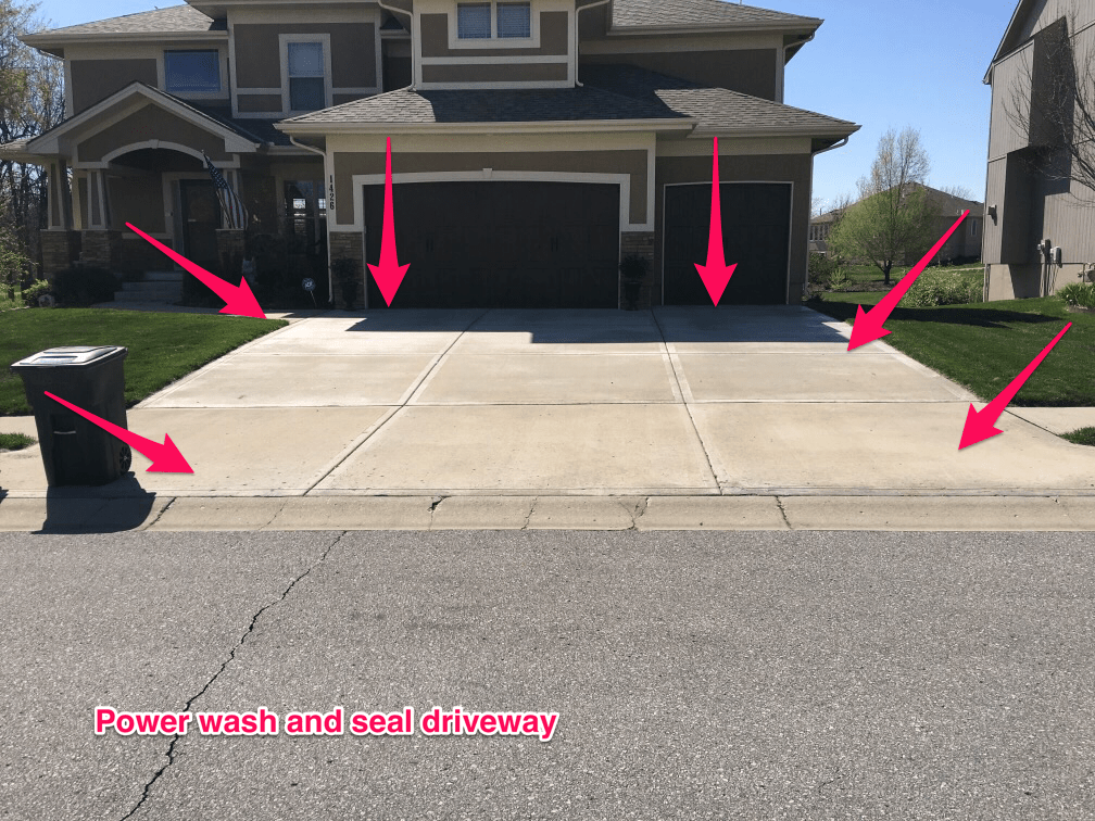 Sealing your driveway and concrete for 25 years rock solid concrete and driveway sealing company in kansas city solutioingenieria Choice Image