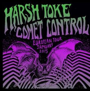 Harsh Toke Konzertplakat, Ausschnitt
