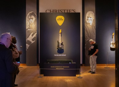The Black Strat bei Christies