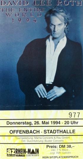 David Lee Roth 1994