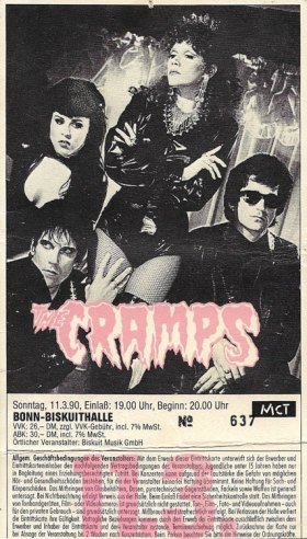 The Cramps 1990