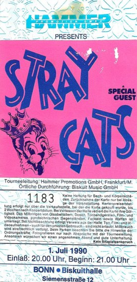 Stray Cats 1990