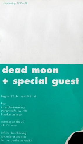 Dead Moon 1998