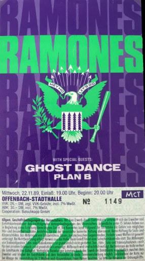 The Ramones 1989