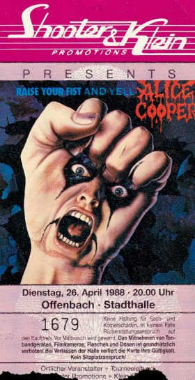 Alice Cooper 1988