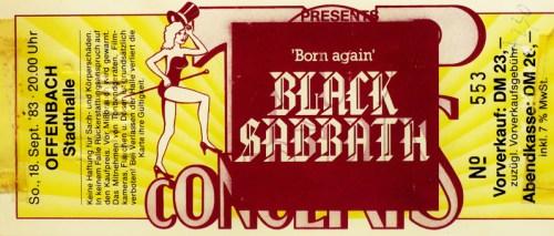 Black Sabbath 1983