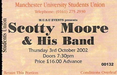 Scotty Moore & His Band 2002