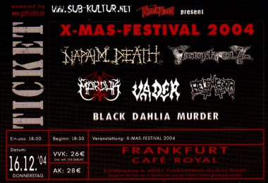 X-Mas-Festival 2004