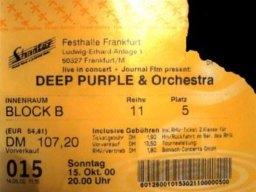 Tickets 00er Teil 1