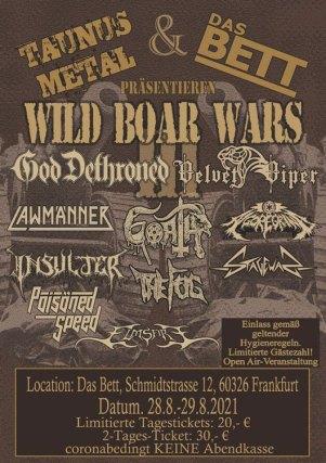 Flyer Wild Boar Wars III