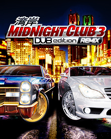 Jaquette Midnight Club 3 DUB Edition Remix